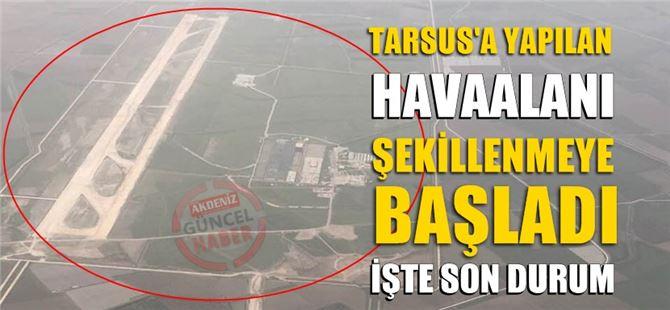 Çukurova Bölgesel Havaalanı'nda inşaat çalışmaları devam ediyor