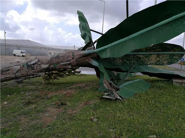 Anamur'da Fırtına Etkili Oldu