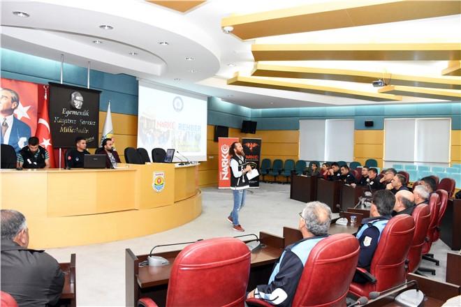 Tarsus Belediyesi Çalışanlarına Narko Rehber Eğitimi Verildi