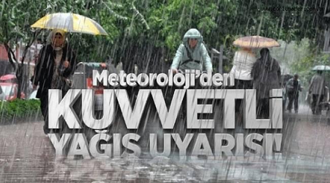 Meteoroloji'den Uyarı Geldi; ''Dikkatli Olun''