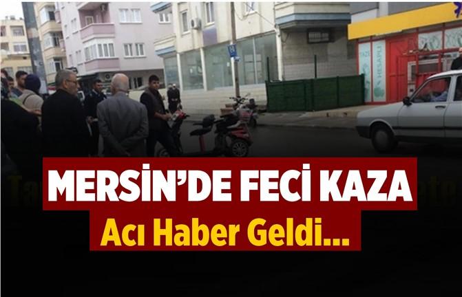 Mersin'de Feci Trafik Kazası