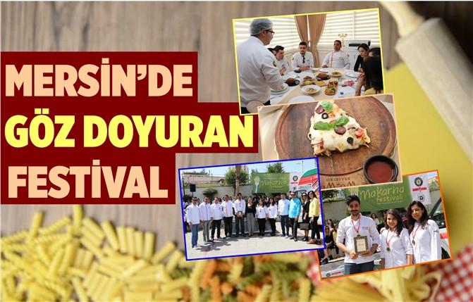 Mersin'de Düzenlenen Festival Göz Doyurdu
