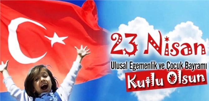 Türkiye Emekli Astsubaylar Derneği Mersin İl Başkanlığı'nın 23 Nisan Mesajı