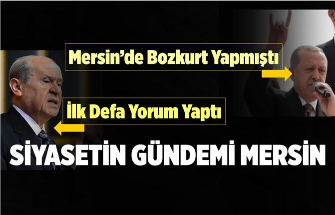 Devlet Bahçeli, Cumhurbaşkanı'nın Mersin'de Yaptığı Bozkurt İşaretini Yorumladı