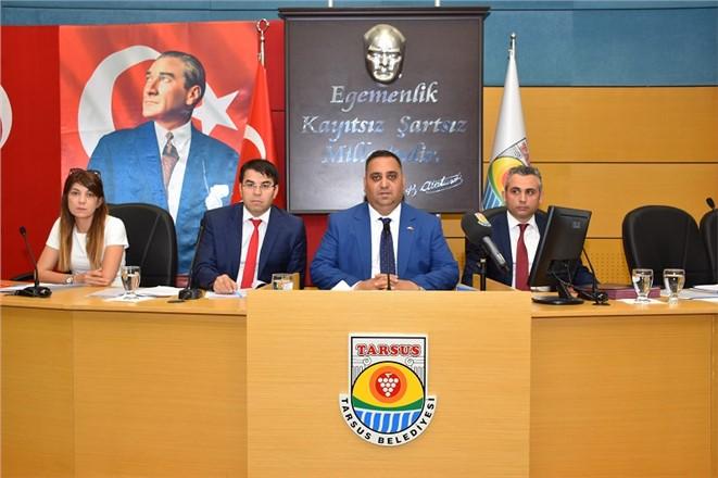Tarsus Belediye Meclisi Toplantısı Yapıldı