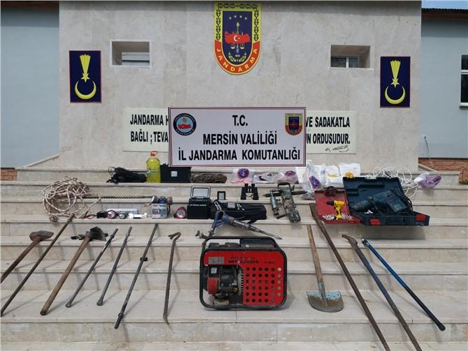 Mersin'de Jandarmadan 'Çukur' Operasyonu