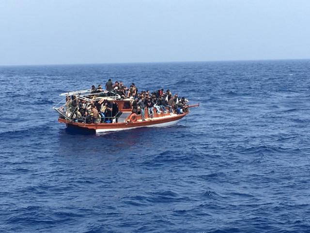Mersin'de 1'i Çocuk 100 Göçmen Yakalandı
