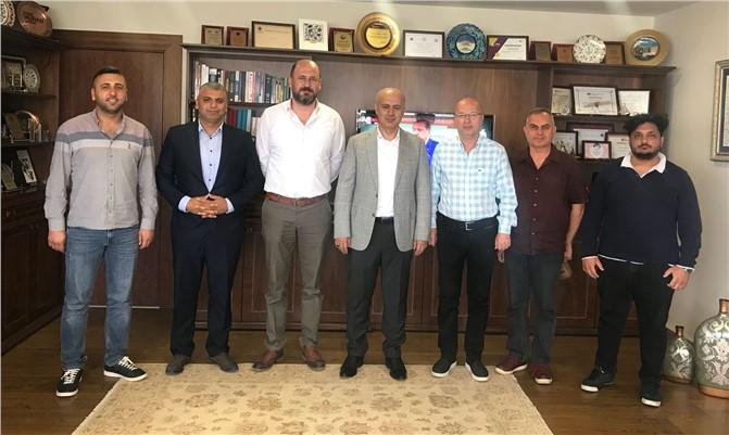 Gazeteciler Cemiyeti'nden Rektör Çamsarı'ya Ziyaret