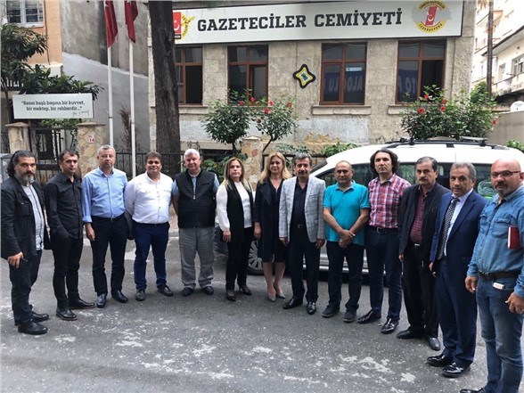 Mersin Gazeteciler Cemiyeti'nde Görev Bölümü Yapıldı