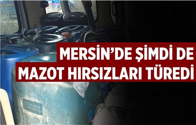 Mersin'de Mazot Çalan Zanlılar Her Yerde Aranıyor