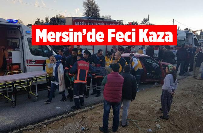 Mersin'de Trafik Kazasında 1 Can Gitti