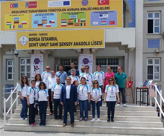 Tarsus'ta TUBİTAK Fuarı Açıldı