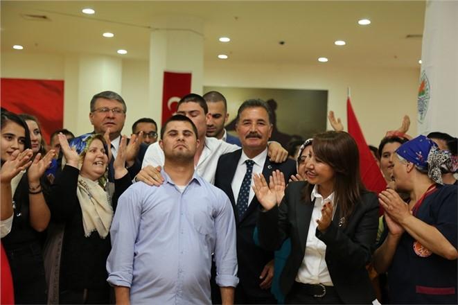 Başkan Hamit Tuna Yüz Güldürdü