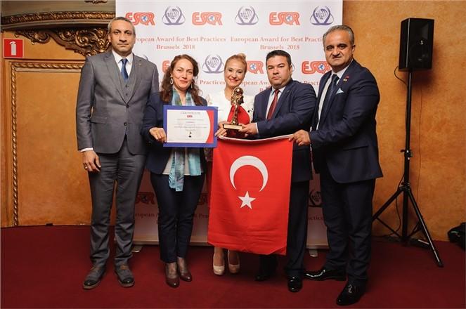 Tarsus Belediyesi'ne Büyük Ödül