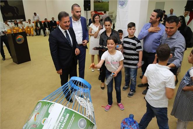 Başkan Tuna, Engellilerin Yüzünü Güldürdü