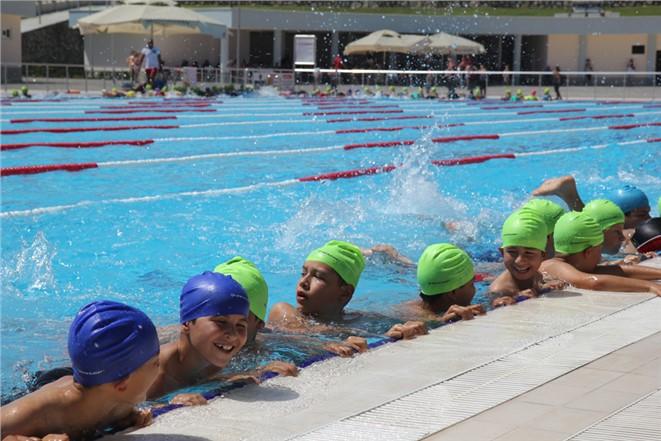 Yüzme Kurslarının Kayıtları,21 Mayıs'ta Başlıyor