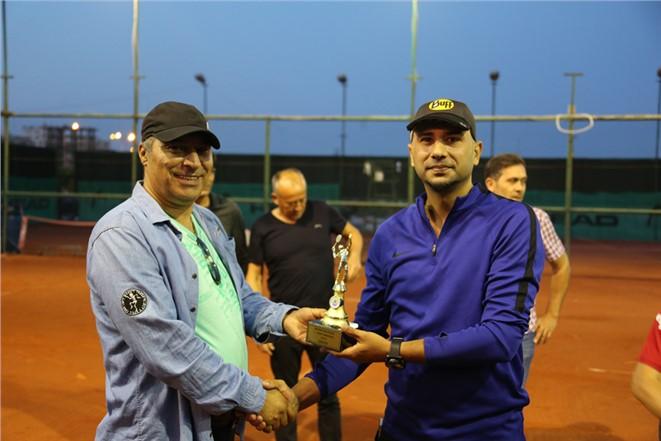 Mersin Erdemli'de Bahar Kupası Tenis Turnuvası Sona Erdi