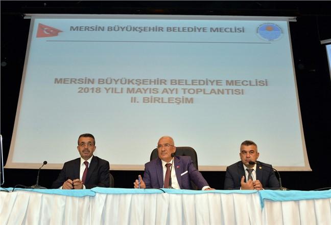 Mersin Büyükşehir Belediye Meclisinden Cem Evine Malzeme Yardımı Kararı