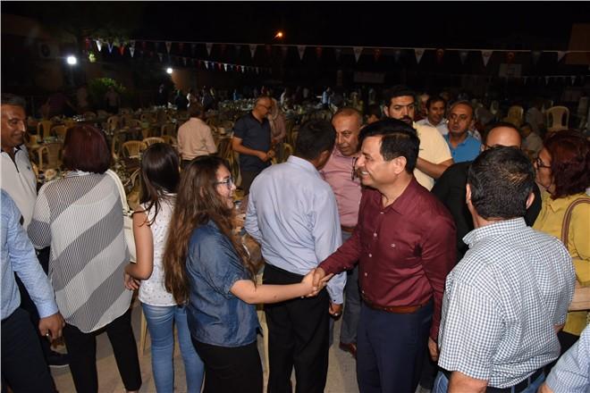 Anamur Belediyesi İlk İftar Sofrasını Bozdoğan'a Kurdu