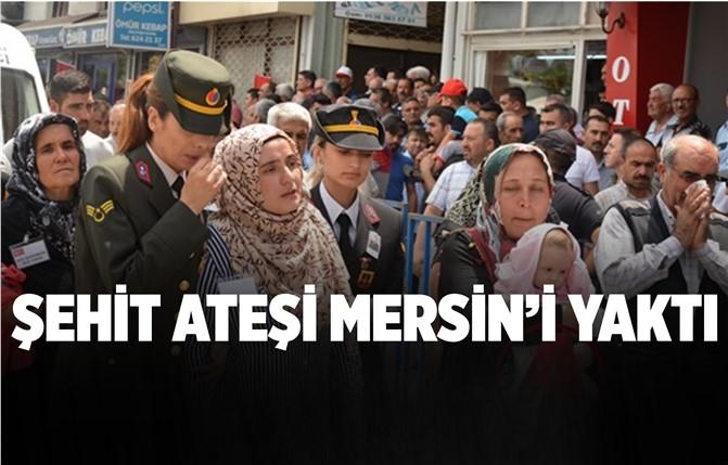 Mersin'de Binlerce Kişi Aynı Acıda Buluştu