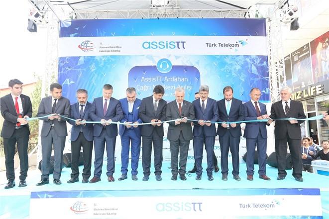 Türk Telekom iştiraki AssisTT'ten Ardahan'a yeni çağrı merkezi