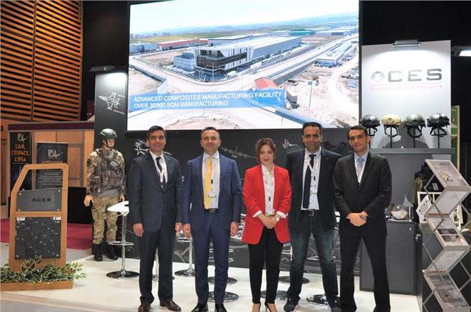CES Dünyanın Lider Savunma ve Güvenlik Fuarı Eurosatory'de Yerini Aldı