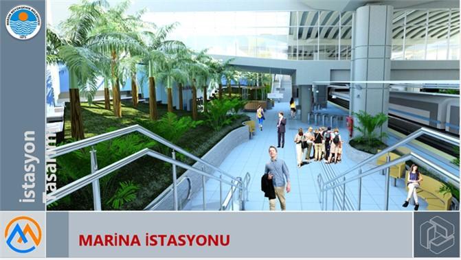 Mersin'e Metro Geliyor, Mersin Metrosu 15 İstasyon İle Hizmet Verecek