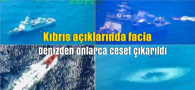 Kıbrıs Açıklarında Facia, Akdeniz'den Cansız Beden Topluyorlar