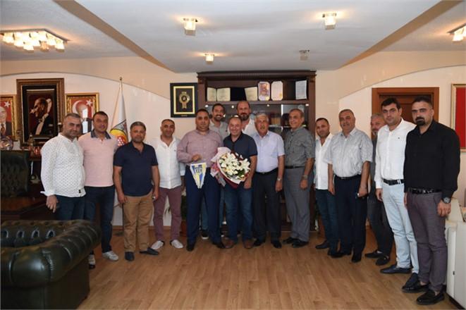 Tarsus İdman Yurdu Yönetiminden Başkan Can'a Ziyaret