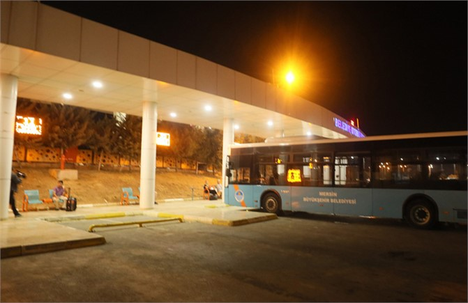 Mersin'de Gece Seferleri Takdir Topluyor Servis Gibi Belediye Otobüsü