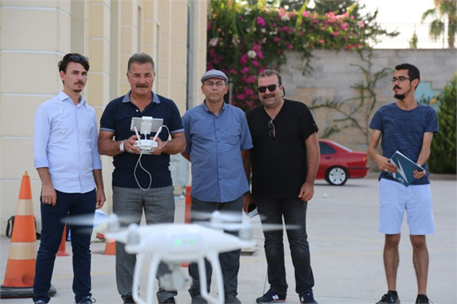 Mersin'de Drone Eğitimi, Yunus Emre Kültür Merkezi'nde Drone Eğitimi