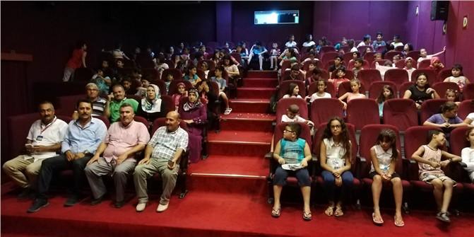Anamur Belediyesinden Kur'an Kursu Öğrencilerine Sürpriz.