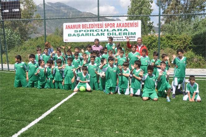 Anamur Belediyesi Spor Akademisi Bu Yazda Çocukların Uğrak Adresi Oldu.