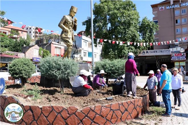 Atatürk Büstü 5 Ağustos'a Hazır