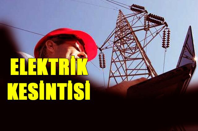 Mersin'de Elektrik Kesintileri 7-8 Ağustos Kesintiler