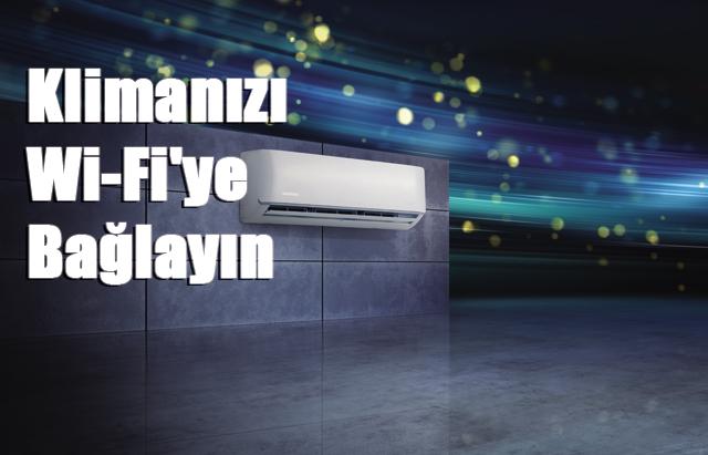 Yaz sıcaklarına Siemens'ten Wi-Fi özellikli çözüm, Klimanızı Wi-Fi'ye Bağlayın