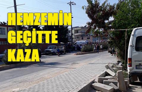 Mersin Karacailyas Hemzemin Geçidinde Tren Elektrikli Bisiklete Çarptı
