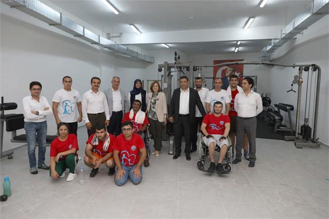 Depboylu'dan, Mersin Büyükşehir'in Engelliler Dairesine Ziyaret