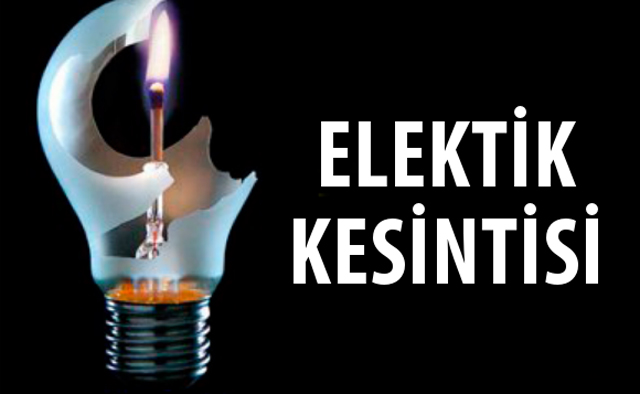 Bugün Dahil 3 Günlük Mersin Elektrik Kesintisi Programı