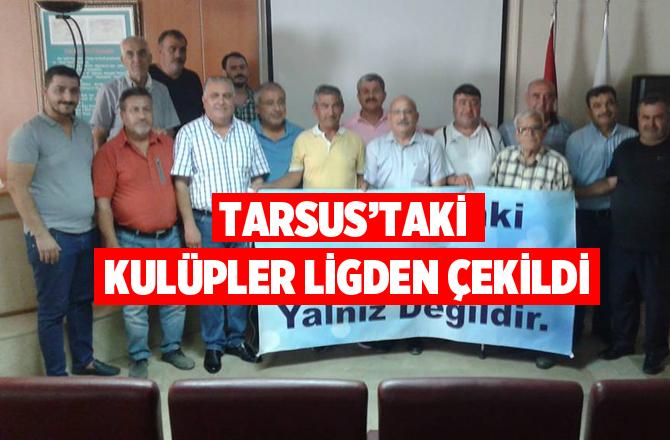 Tarsus'taki Amatör Futbol Takımları Ligden Çekildi