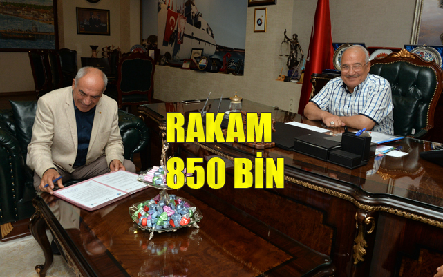 Protokol Tamam Rakam 850 BİN TL, Mersin Büyükşehir'den Cemevine Nakit Yardımı