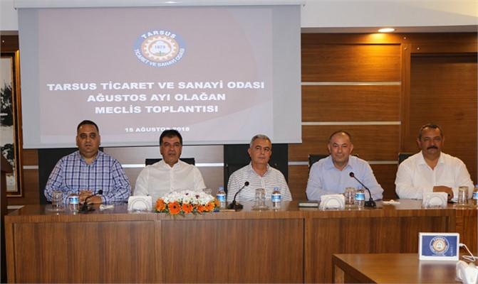 Tarsus Ticaret ve Sanayi Odası Meclisi Toplandı