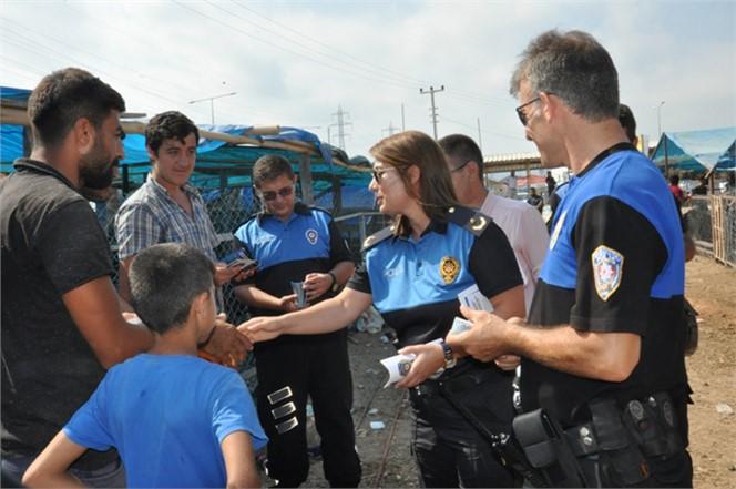 Mersin'de Kurbanlık Alışverişinde Dolandırıcılara ve Hırsızlara Karşı Dikkatli Olun Uyarsı..