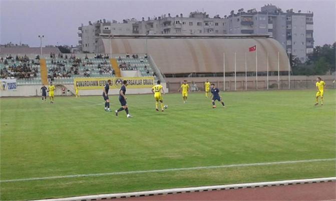 Tarsus Hazırlık Maçını Kaybetti