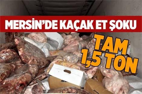 Mersin'de Kaçak Et Skandalı