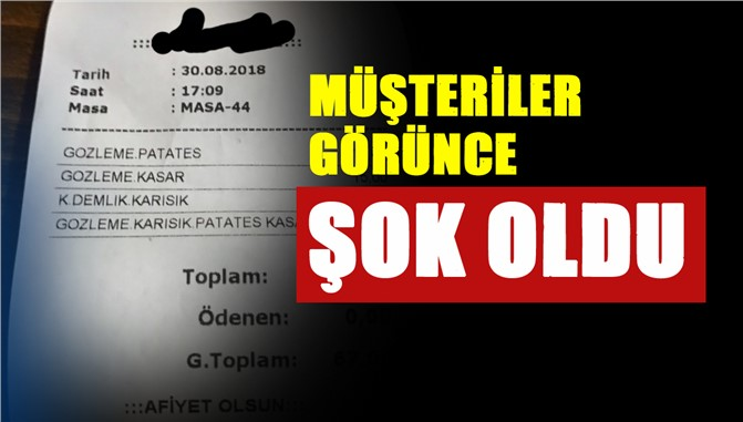 Mersin'de 20 Dakika İçinde Verilen Sipariş Dolar Kuruyla Beraber Zamlandı