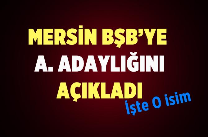 Prof. Dr. Aytuğ Atıcı Mersin Büyükşehir Belediyesine Aday Aday Olduğunu Açıkladı