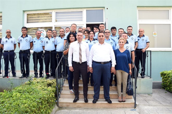 Tarsus Belediye Başkanı Şevket Can, Zabıta Haftasını Kutladı