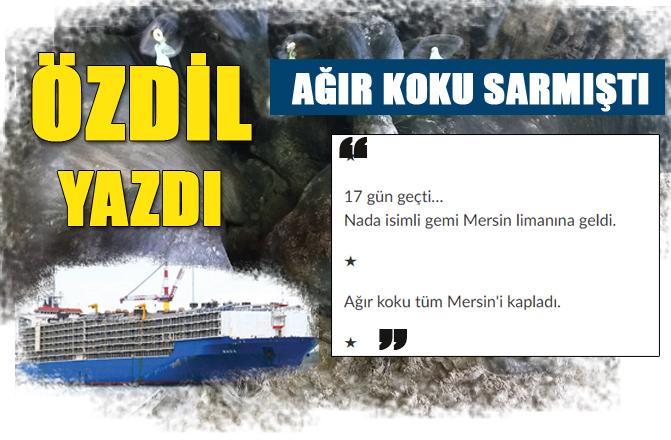 Şubat Ayında Gündeme Getirmiştik, Limana Gelen Nada İsimli Gemi ve Şarbon Hakkında