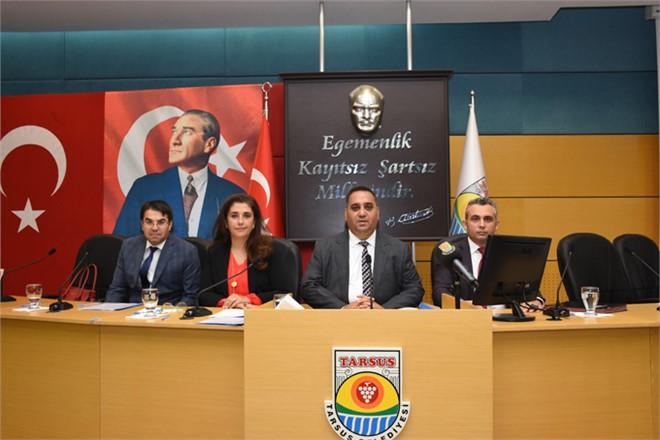 Mersin Tarsus Belediye Meclisi Eylül Ayı Toplantısını Gerçekleştirdi, Spora Destek Arttı